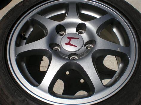 Acura Type R Rims Gunmetal W/h Center Caps