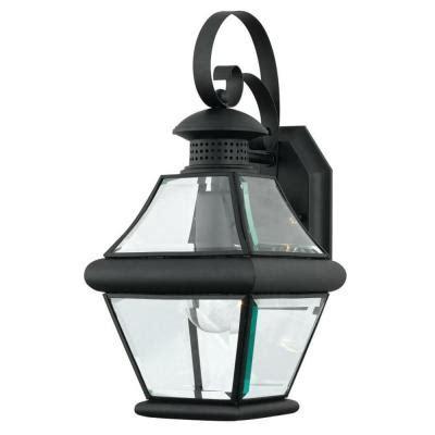 monroe 1 light outdoor mystic black incandescent wall lantern filament design monroe 1 light outdoor mystic black