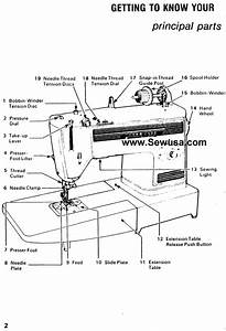 Singer 1022 Instructions Manual