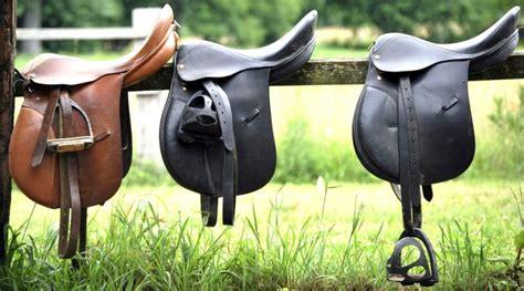horse tack clean way saddle