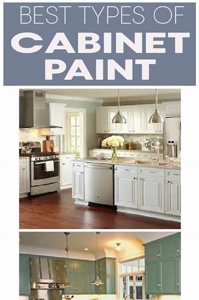 Paint Kitchen Types Cabinets Painting Painted Cabinet