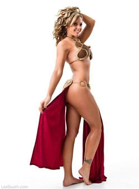 Princess Slave Leia Return Of The Jedi Cosplay Vivolatino
