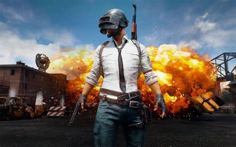 Download 1680x1050 Playerunknown's Battlegrounds, Explosion, Artwork, Pubg Wallpapers For