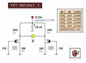 Fet Matching 2 - Electrical Equipment Circuit