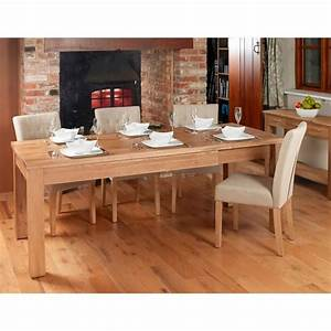 Dining Tables Mobel Extending Oak Dining Table 4 8