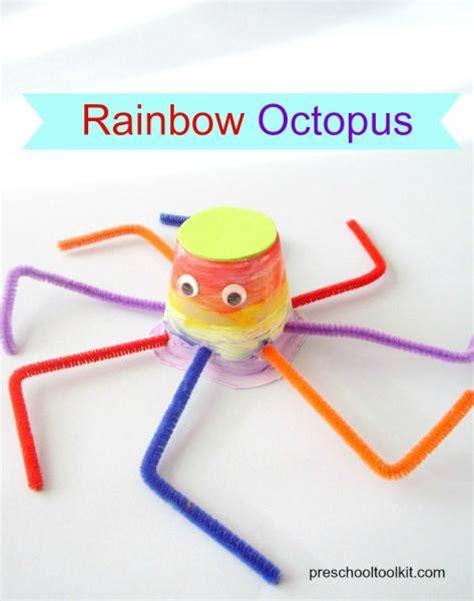 rainbow octopus preschool craft 187 preschool toolkit 132 | ResizedImageWzQ3Myw2MDBd octopus pin 3
