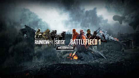 mix rainbow  siege battlefield  youtube channel
