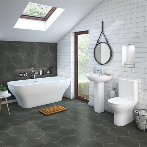 Mirage Freestanding Bath Suite  Victorian Plumbing Uk