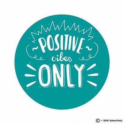 Vibes Positive Sticker