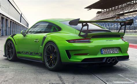 2019 Porsche Gt3 Rs by The New 2019 Porsche 911 Gt3 Rs Myautoworld