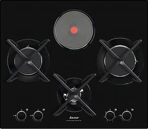 Plaque De Cuisson Gaz Et électrique : plaque de cuisson mixte gaz electrique ~ Dailycaller-alerts.com Idées de Décoration