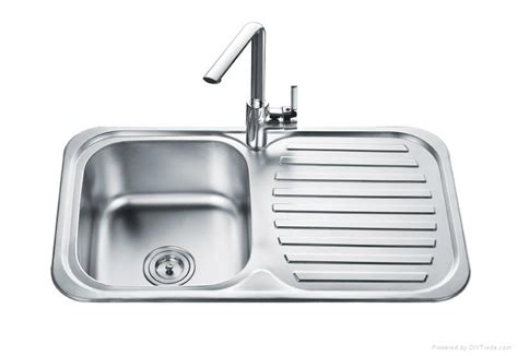 single bowl kitchen sink with drainer single bowl with drainer bowl kitchen sink od 8248a 9306