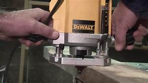 How To Use A Dewalt Router