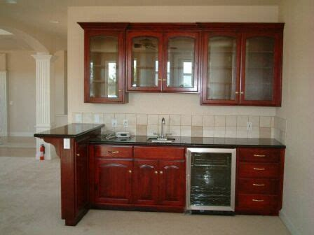 Basement Bar Sink by Bar Small Fridge Microwave No Sink Or Top Cabinets