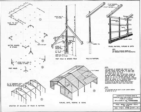 pole barn plans  designs     build