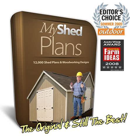 shed plans elite large