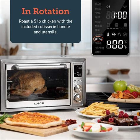 oven toaster fryer air cosori consumer ao convection recipes dehydrator report included reports 30l roaster