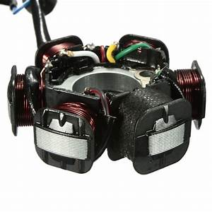 Gy6 50 110 150cc 6 Pole Ignition Coil Stator Magneto For