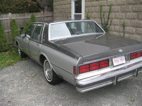 1987 Chevrolet Caprice - Information and photos - MOMENTcar