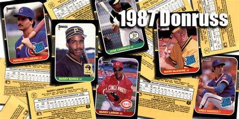 Oct 03, 2020 · 1987 donruss baseball cards in review. Buy 1987 Donruss Baseball Cards, Sell 1987 Donruss Baseball Cards: Dean's Cards