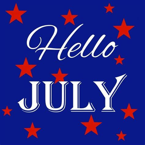 Hello July Pictures, Photos, and Images for Facebook