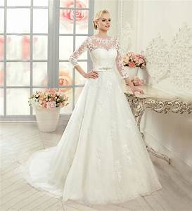 Fashion ivory lace wedding dresses 2015 see through sheer for See through bodice wedding dress