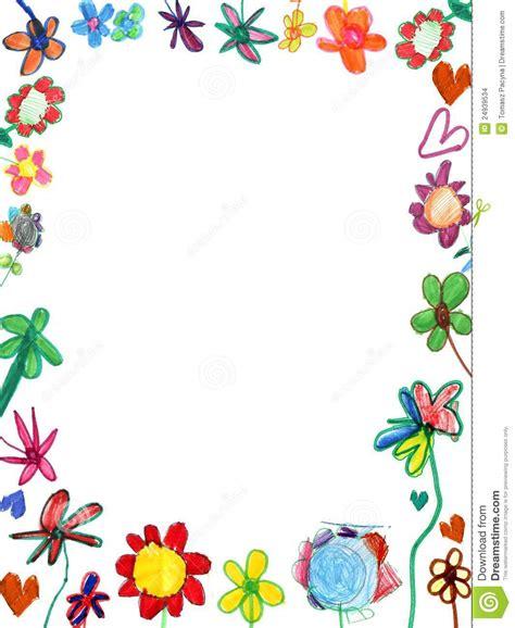 Como Trabajr Con Template En La Compu by Frame Vertical Das Flores Ilustra 231 227 O Da Crian 231 A Foto De