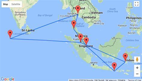 asia  bangkok   krabi singapore bali