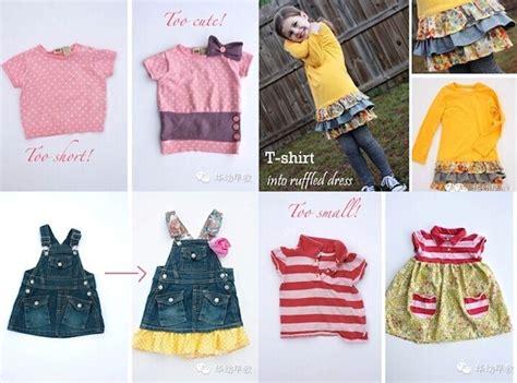 wonderful diy reusing girls clothes