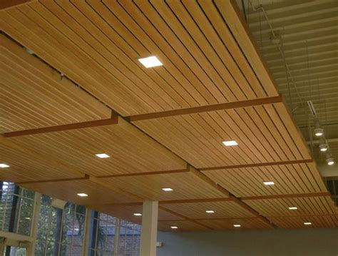 Suspended Wood Ceiling by Wood Grid Panel For Suspended Ceiling Asu Walter