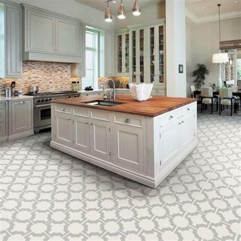 kitchen flooring options tile ideas  white cabinets