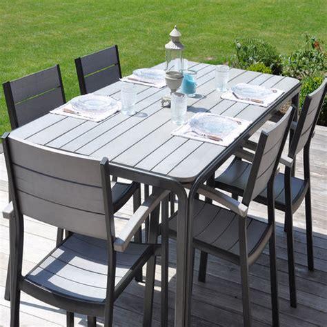 table de jardin tresse pas cher table salon de jardin pas cher bricolage maison et d 233 coration