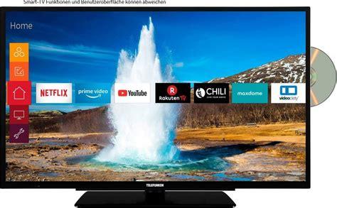 smart tv 80 cm telefunken d32h289m4cwd led fernseher 80 cm 32 zoll hd ready smart tv integrierter dvd