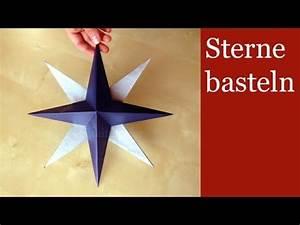 3d Stern Basteln 5 Zacken : sterne basteln 3d weihnachtssterne basteln ~ Lizthompson.info Haus und Dekorationen