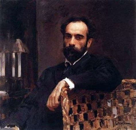 Description of the painting by Valentin Serov
