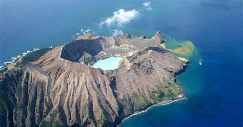 white island whale island  hour volcano scenic flight