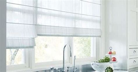 blinds   kitchen modern trends  window treatments small kitchen ideas roman shades