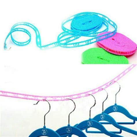 Tali Jemuran 5 Meter Portable tali jemuran praktis tali jemuran dengan bahan kuat dan