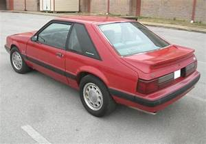 Scarlet Red 1988 Ford Mustang Hatchback - MustangAttitude.com Photo Detail
