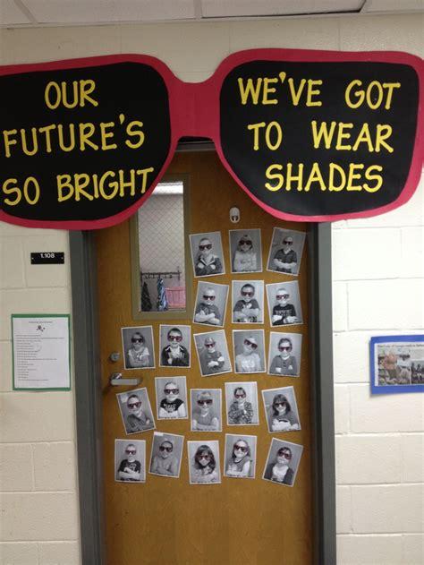Halloween Classroom Door Decorating Contest by End Of The Year Future Career Door Decoration Bulletin