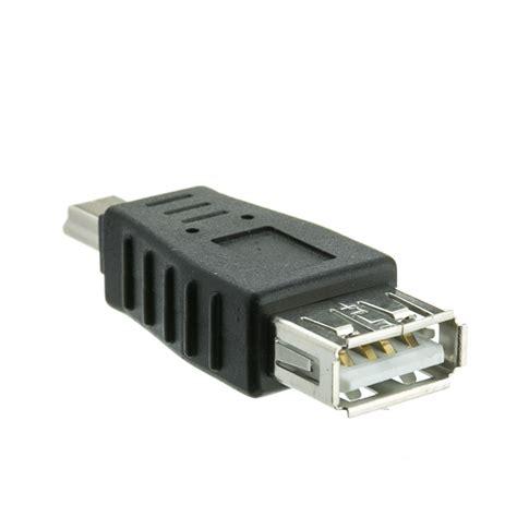 usb a to usb mini b adapter a to mini b 5 pin