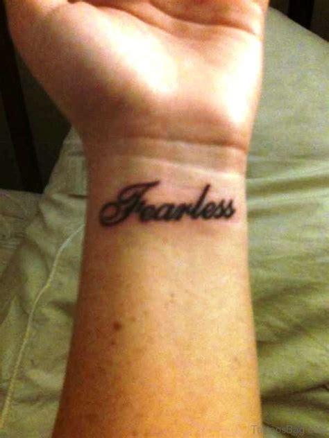 dazzling fearless tattoos  wrist