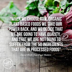 17 Best images ... Raw Eating Quotes