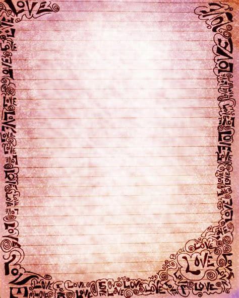 printable journal page word art   ink pink love