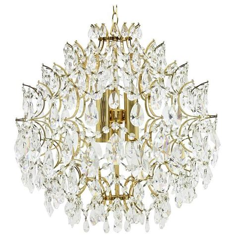 swarovski glass chandelier 1970s for sale at 1stdibs