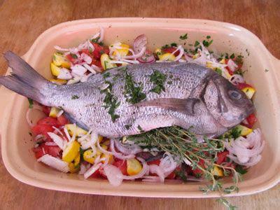 cuisiner dorade grise dorade sur lit de légumes les festins du quotidien