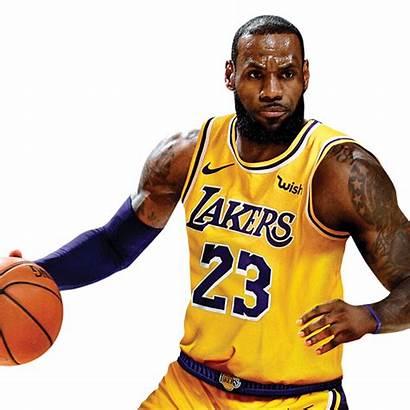 Lebron Lakers James Nba Fathead Transparent Background