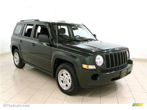 dark green jeep patriot 2010 natural green pearl jeep patriot sport 4x4 54256876