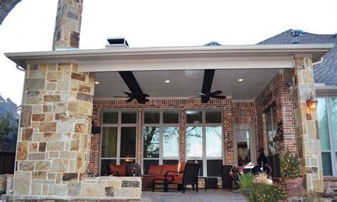 patio cover allen tx dfw area custom patios