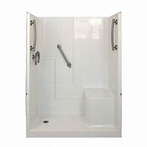 Shower Stall Kits In Charming 16 Bathroom Shower Ideas